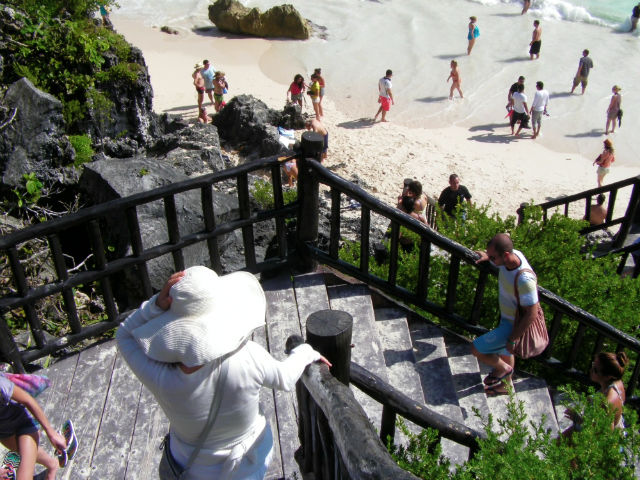 Tulum White Sand Beach Riviera Maya Mexico Vacation Beautiful Paradise