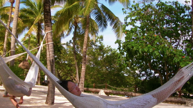 Hammock Relaxation Relaxing Xel-ha Riviera Maya Mexico Vacation Beautiful Paradise