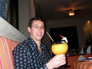 It's Mango Daiquiri time! (this January at BlueBay Grand Esmeralda,Playa del Carmen, Mexico)