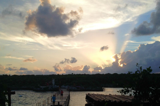 Clouds Sunlight Effect Xel-ha Riviera Maya Mexico Vacation Beautiful Paradise