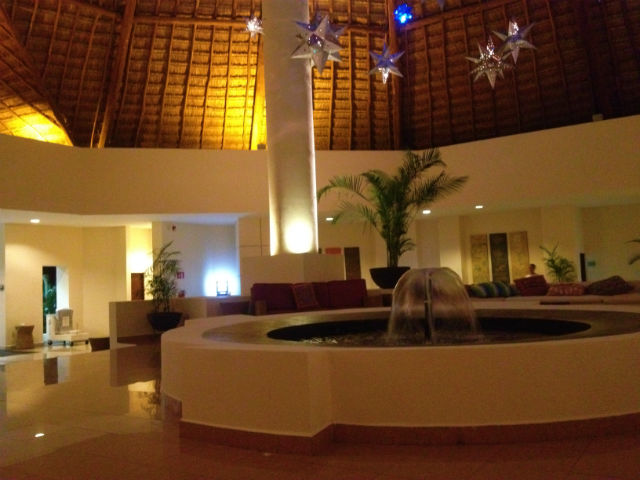 The lobby is quite welcoming and relaxing