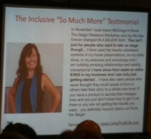 """Inclusive """"So Much More"""" Testimonial Example"""