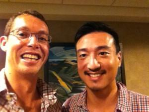 Daniel Chen and Bevan Bird