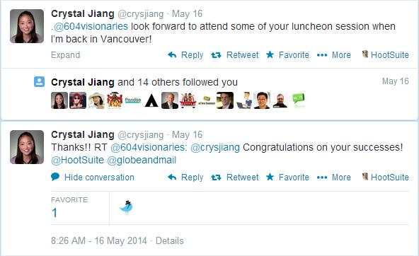 B2B Social Media Lead Generation Tweets Crystal Jiang 3