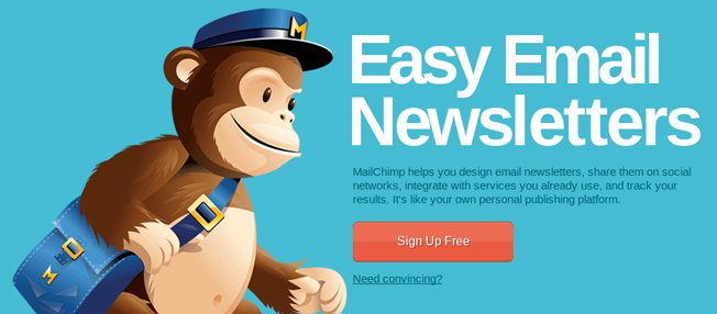 Mailchimp Easy Email Newsletters