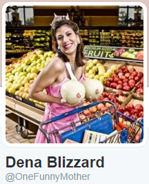 Dena Blizzard Twitter Photo Melons