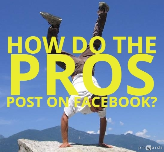 How to post on Facebook like a Professional