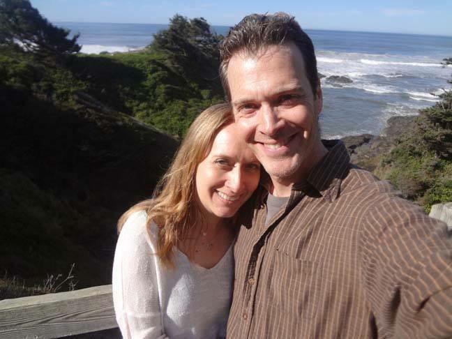 Dan Teck and Jodi Chapman